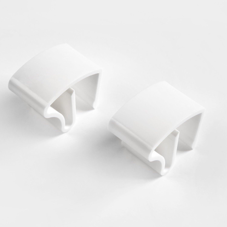Sol Royal Argent 40 x 130 cm Montage Simple sans vis Store venitien en Aluminium Systeme de Fixation Inclus