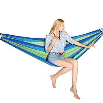 Hewolf Outdoor Camping Hammock For Backpacking Hiking Beach Travel