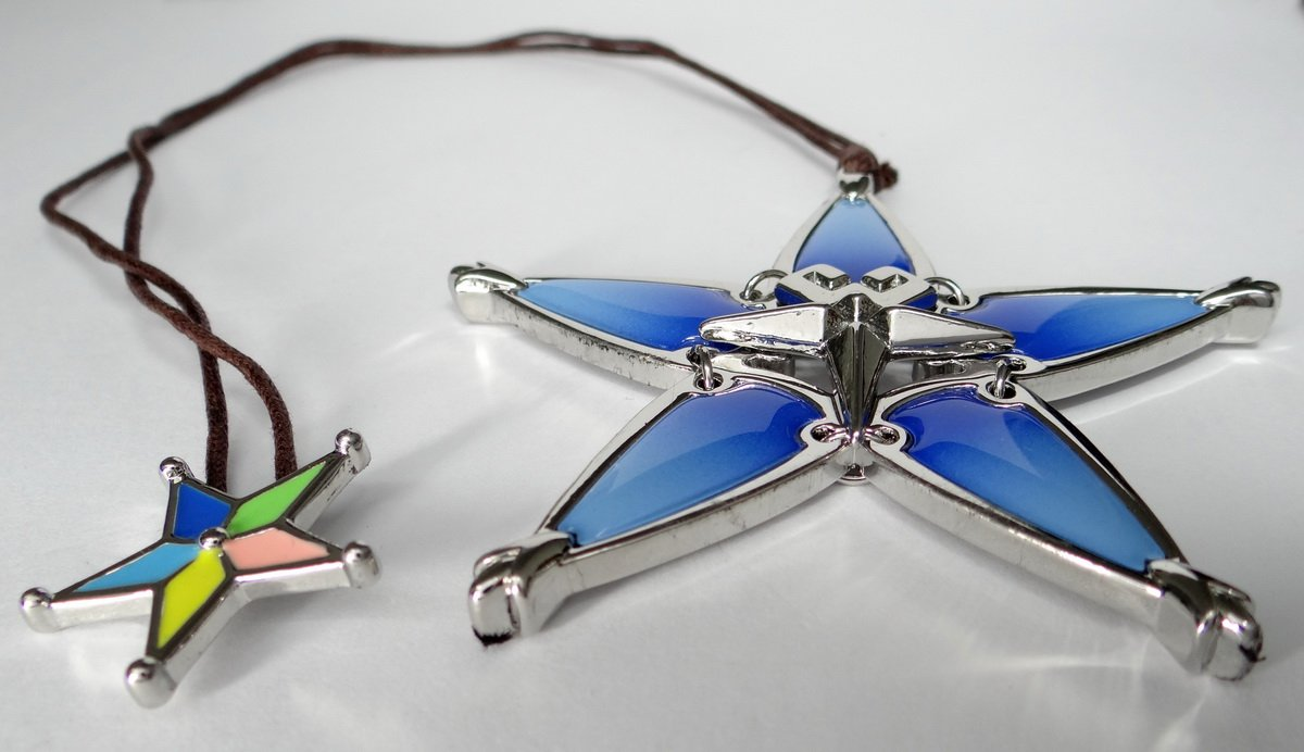 Decalism Aqua's Wayfinder from Kingdom Hearts Made of Metal by Decalism (Image #5)
