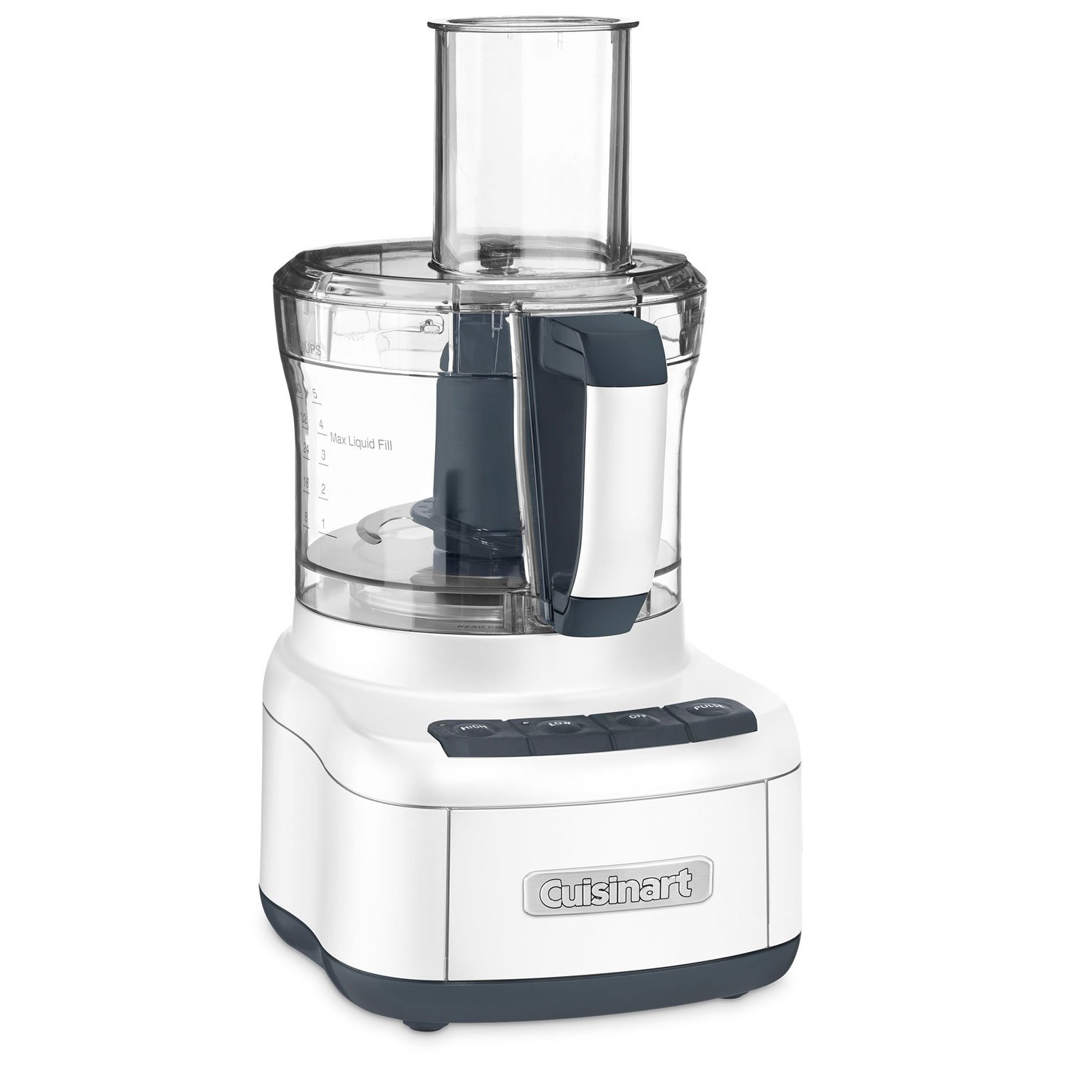 Cuisinart FP-8FR - 8 Cup Food Processor, White - (Certified Refurbished)