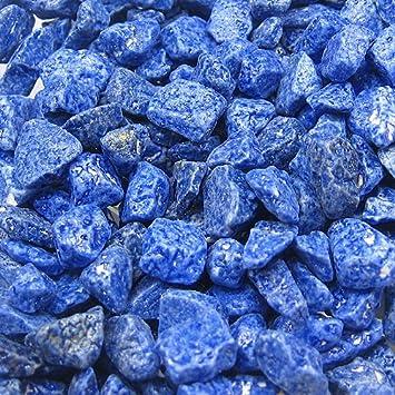 Grava decorativa para jardín, guijarros ornamentales - Color a elegir, Piedra, azul, 5 kg: Amazon.es: Jardín