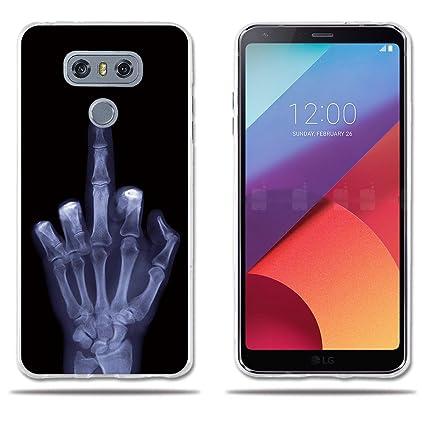 fubaoda Funda LG G6 H870 Carcasa de Silicona,Dibujo Tema No ...