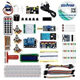 OSOYOO Raspberry Pi 3 Zero W Starter Kit DIY Electronic RPi Learning Kit for Beginner Display with C/Python code and video tutorial
