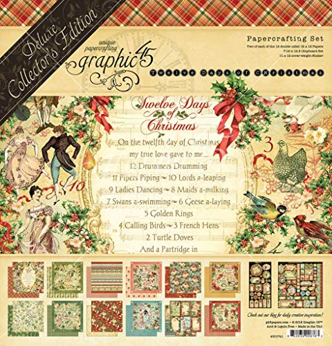 Graphic 45 4501741 Christmas Deluxe Collector Ed, None