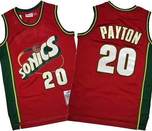 JERSEY-BX NBA Gary Payton # 20 Oklahoma City Thunder (Seattle ...