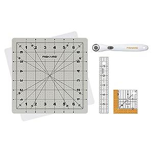 Fiskars 149800-1004 Detail Fabric Cutting Set (4-piece) 18 mm
