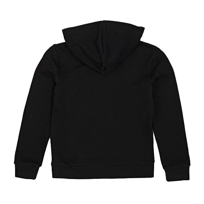 adidas Originals Sudaderas - Adidas Originals Junior Adi Trefoil Hoodie - Black/White, Unisex Adultos, negro, 07-8 Años: Amazon.es: Deportes y aire libre