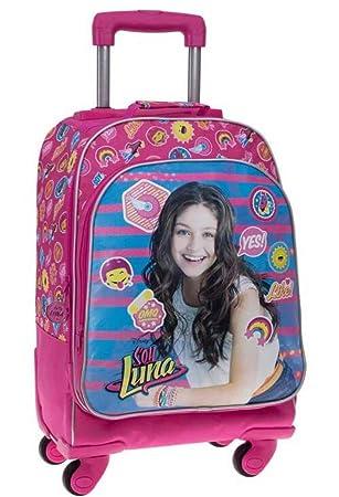 Disney Yo Soy Luna Mochila Escolar, 31.88 litros, Color Rosa: Amazon.es: Equipaje