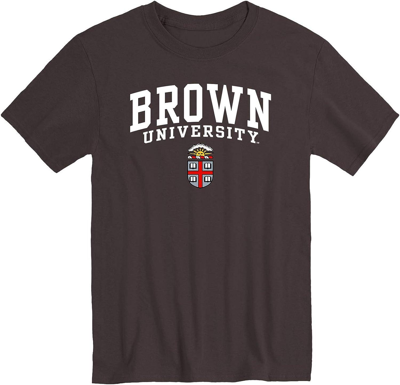 Heritage Logo Cotton Poly Blend Ivysport Short Sleeve T-Shirt NCAA Colleges Color