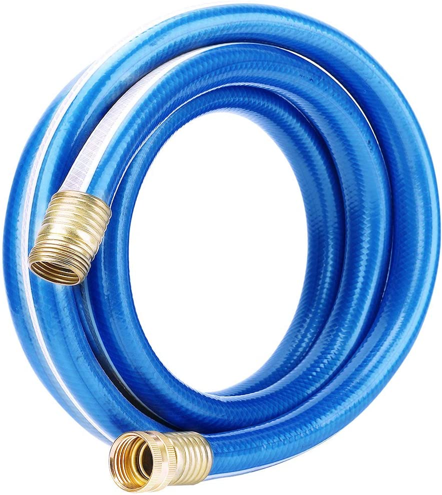 8 Feet Long Washing Machine Hose with 3//4 Inch GHT Connectors on Both Ends