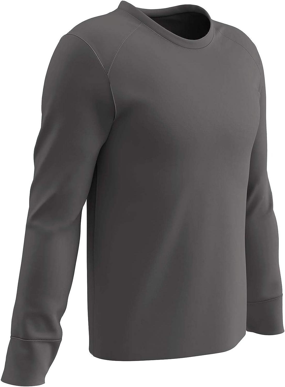 CHAMPRO Gunner Polyester Crew Neck Shooter Shirt Grey Adult X-Large