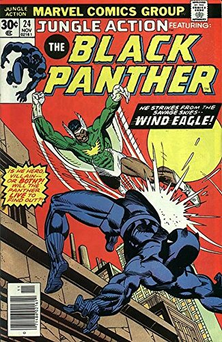 First Issue Comic Book (Jungle Action BLACK PANTHER #24 (1st Appearance WIND EAGLE, Last Issue))