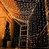 Magictec 300 LED Curtain String Light, 8 Lighting