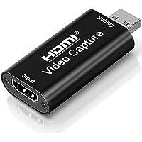 Tarjeta de captura de video en vivo USB2.0 HD 1080P Grabación de video compatible con múltiples sistemas, Dispositivo de…