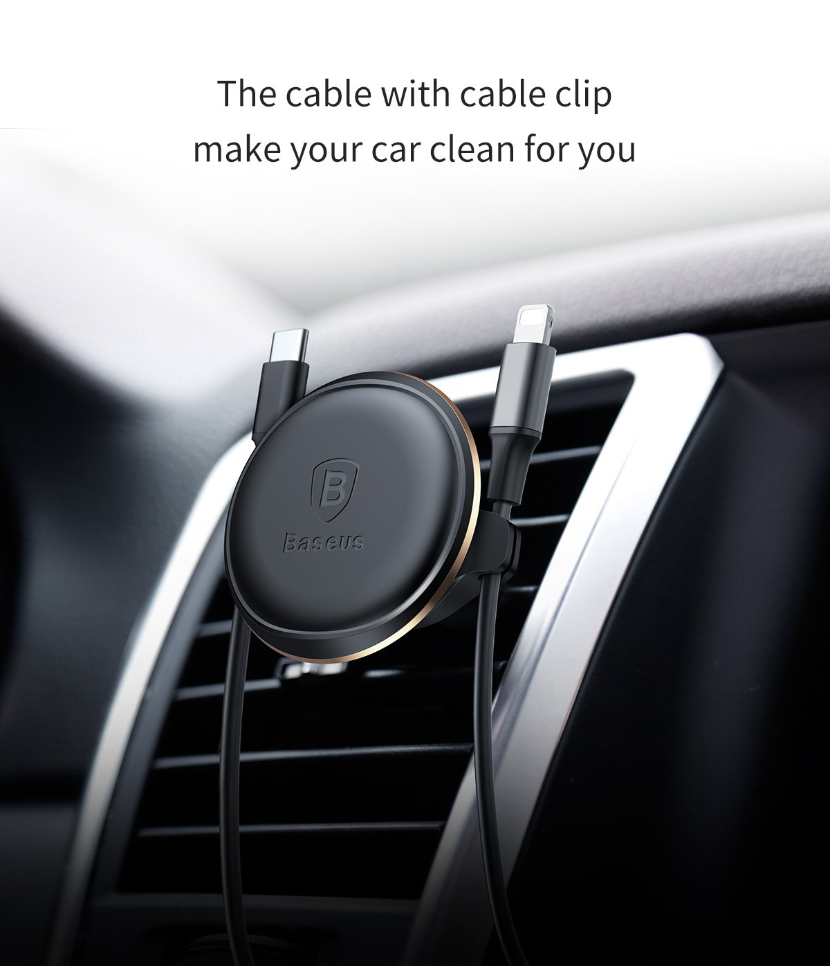 Free Metal Plate Wire Holder Cable Clip for Cell Phones from 4-6.0 4336707706 Air Vent Phone Holder,Baseus Universal Car Air Vent Megnetic Suction Bracket Mount Stand /&