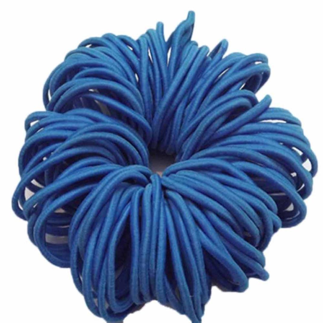 Chartsea Hair Ties Rubber Bands, Thick Endless Snag Free Hair Elastics 50PC charts_DRESS