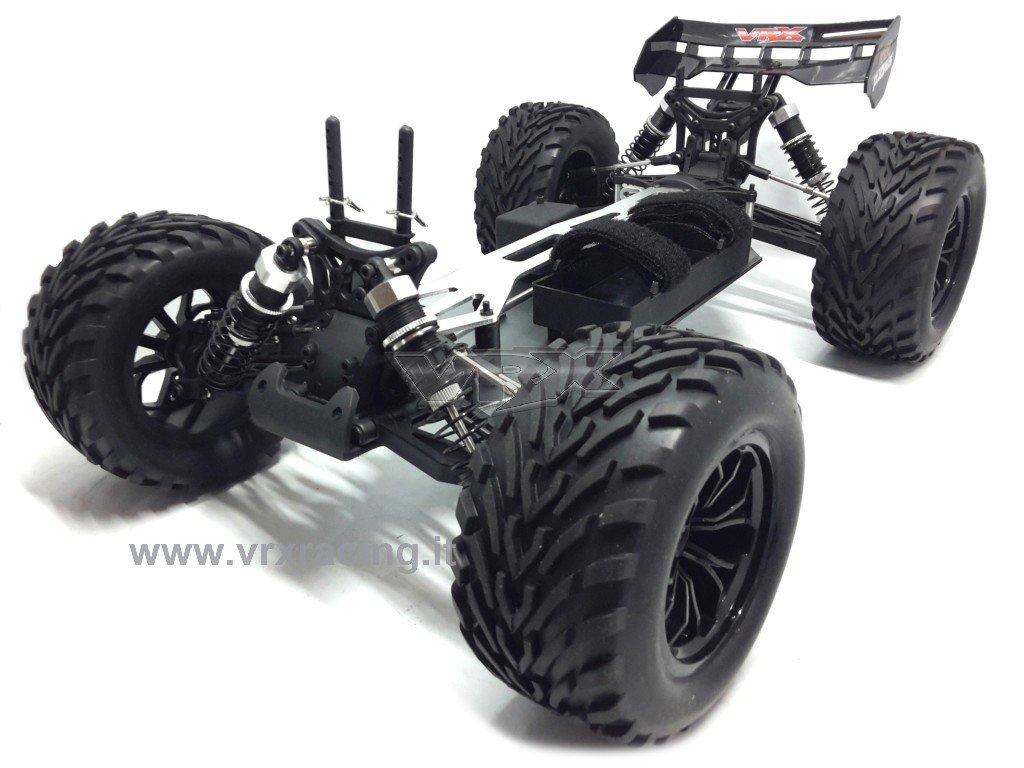 Truggy XXX Sword Off Road 1/10 con marco de metal mecánica completa + carrocería transparente 4 WD VRX: Amazon.es: Juguetes y juegos