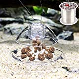 Senzeal Snail Trap Plastic Trap Hands on Catcher with Fishing Line for Aquarium
