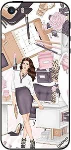 Case For iPhone 5 Girl Boss & Hobbies