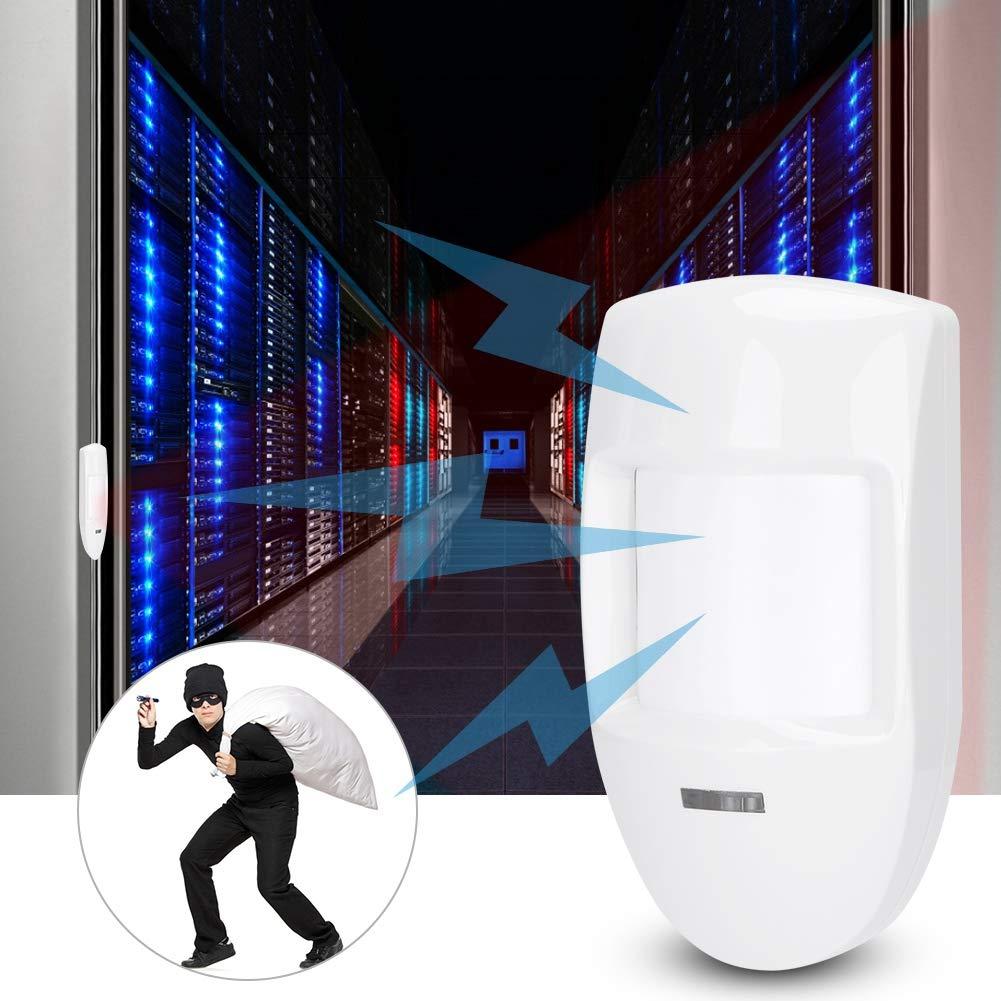 Sensore di movimento PIR cablato a 12V Rilevatore di movimento a infrarossi Sistema di sicurezza domestica Sensore di movimento PIR Adatto per negozi ecc fabbriche case edifici per uffici