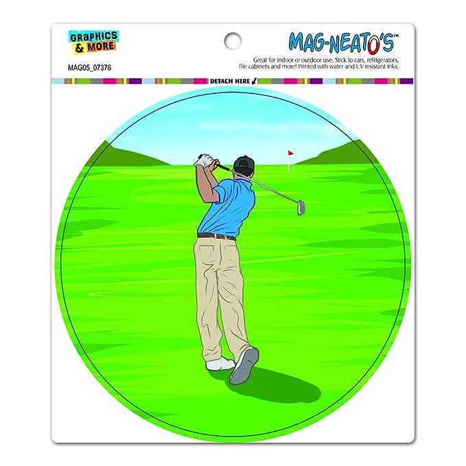 golf golfing golfer sport circle mag neato s tm automotive car