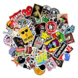 #10: Car Sticker [100pack], Decals Vinyls Stickers for Personalize Laptop Car Bicycle Skateboard Luggage Bumper Stickers Hippie Decals bomb Waterproof for Kids.