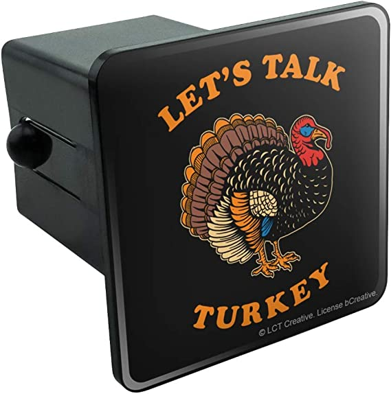 Graphics and More Turkey Thanksgiving Autumn Tow Trailer Hitch Cover Plug Insert