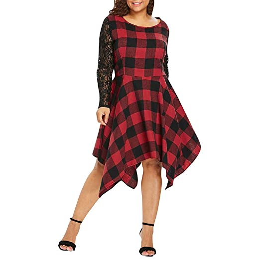 Plaid Party Dresses