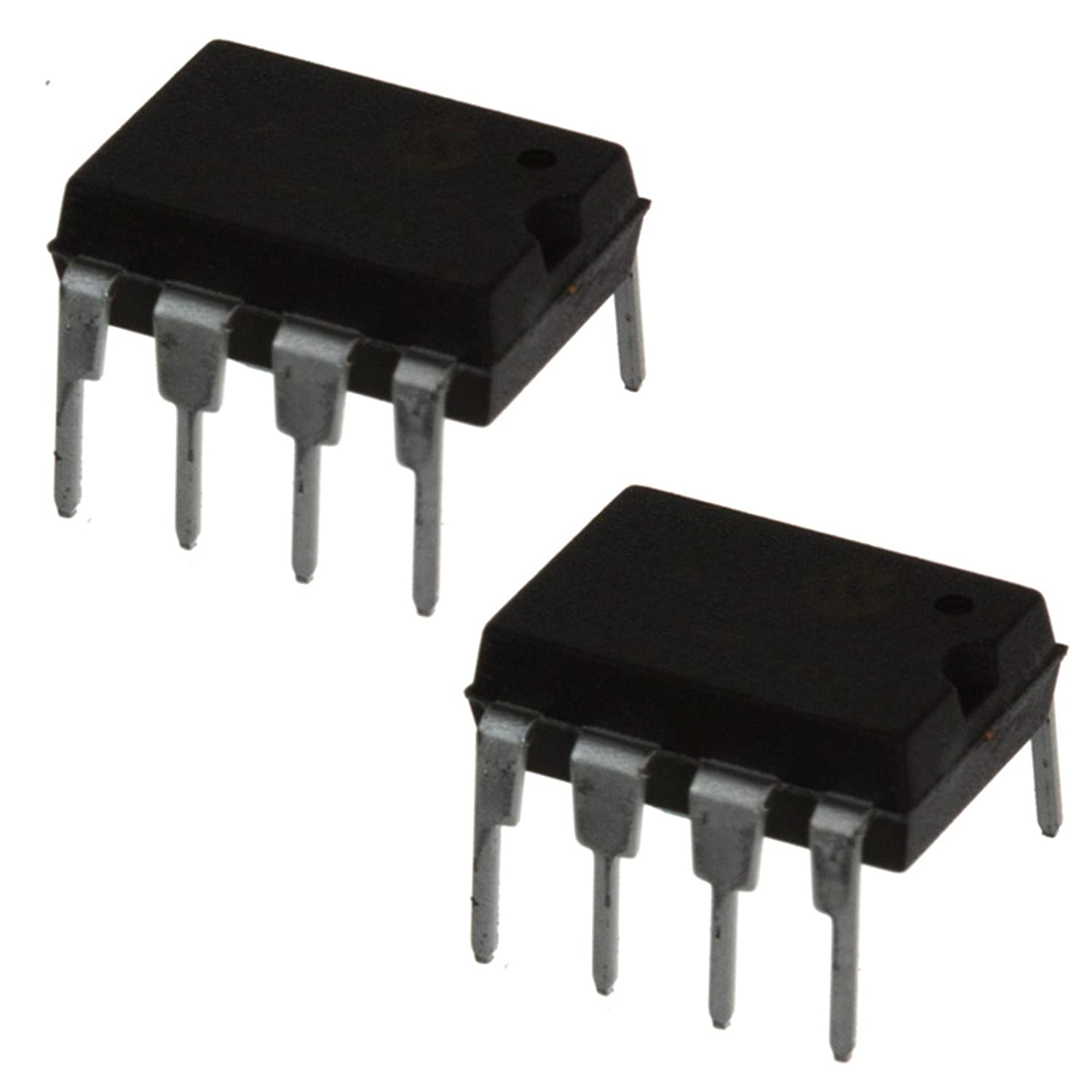 2x NE5532P Dual Low Noise Operational Op Amp/Amplifiers NE5532 DIP IC Texas Instruments