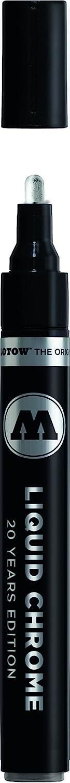 MOLOTOW Liquid Chrome Alcohol Paint Pump Marker, 4mm, 1 Each (703.103)