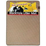 """Blackhole Cat Litter Mat - Beige Super Size Rectangular 30"""" X 23"""" (Beige)"""