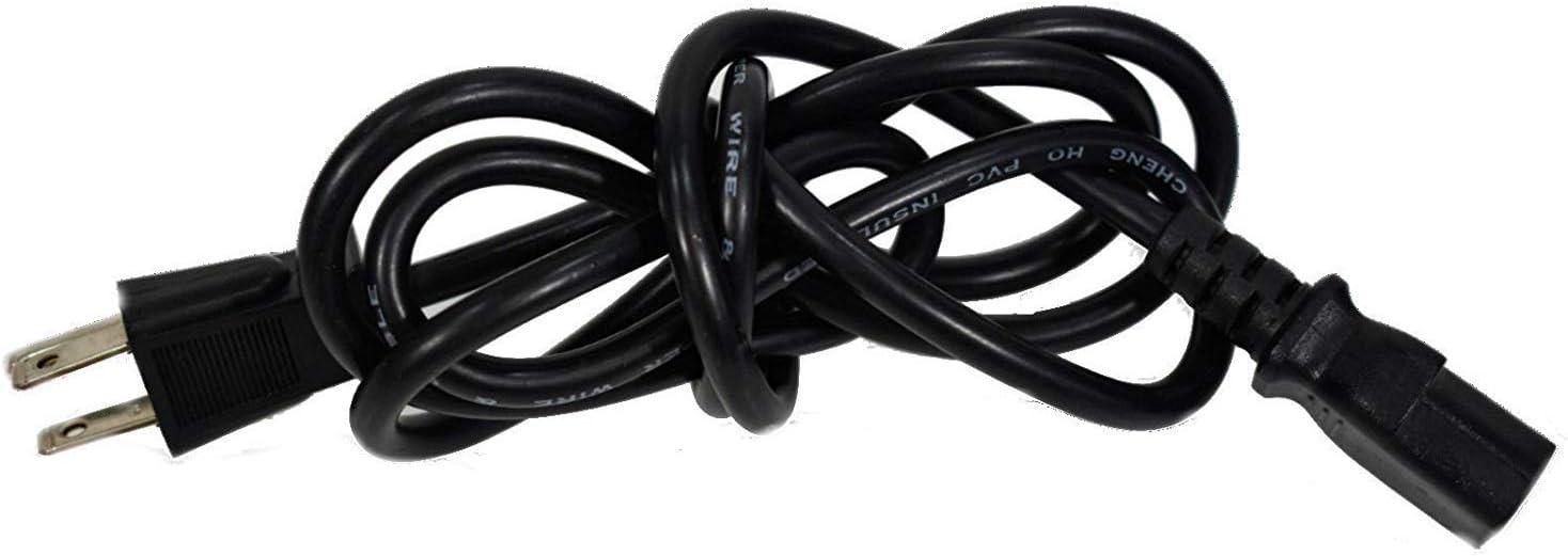 Power Cord Cable for Samsung LS22WJWKBJUXAA LS22X3HKFP//ZA LS22WJWKBM//XAA
