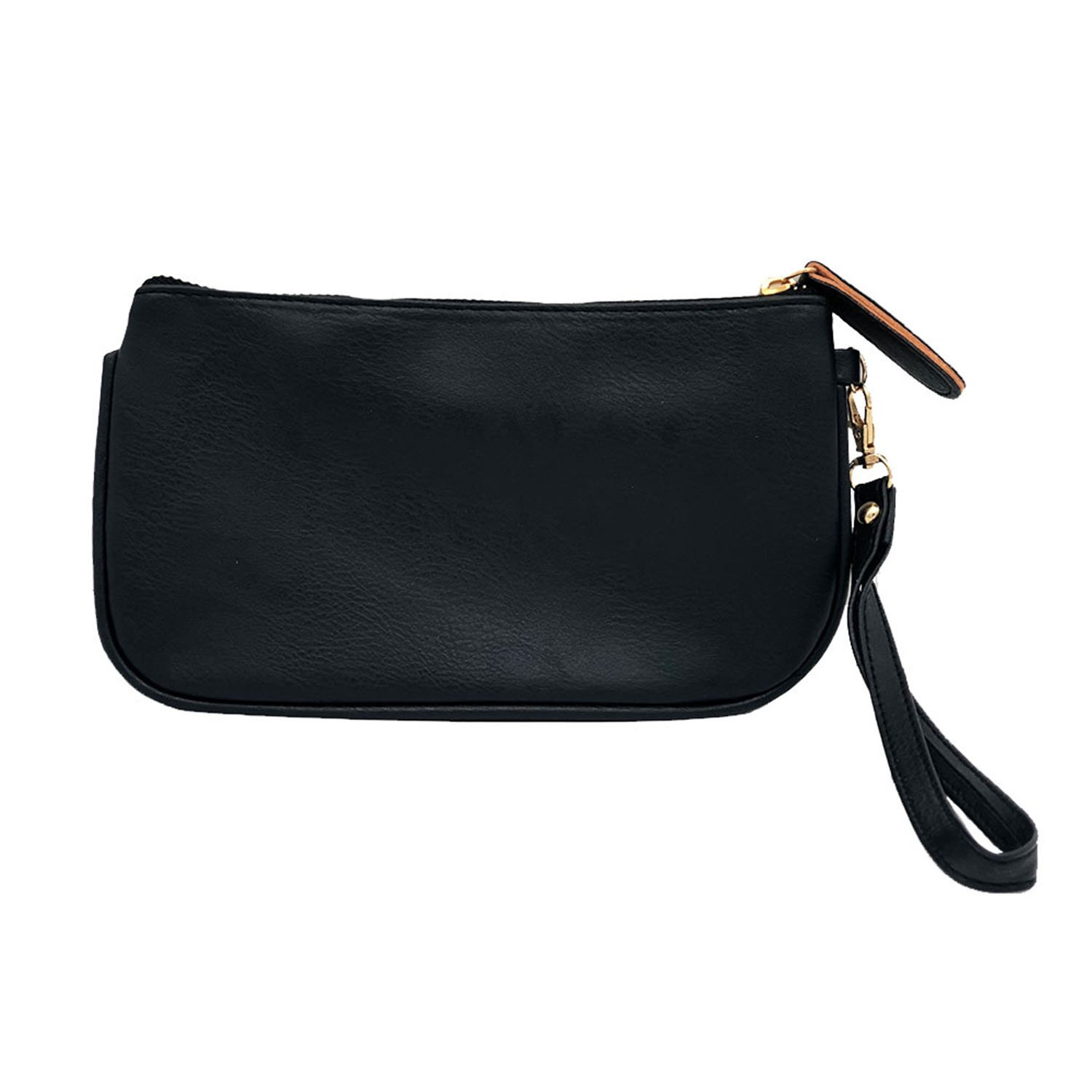 Auony Leather Wristlet...