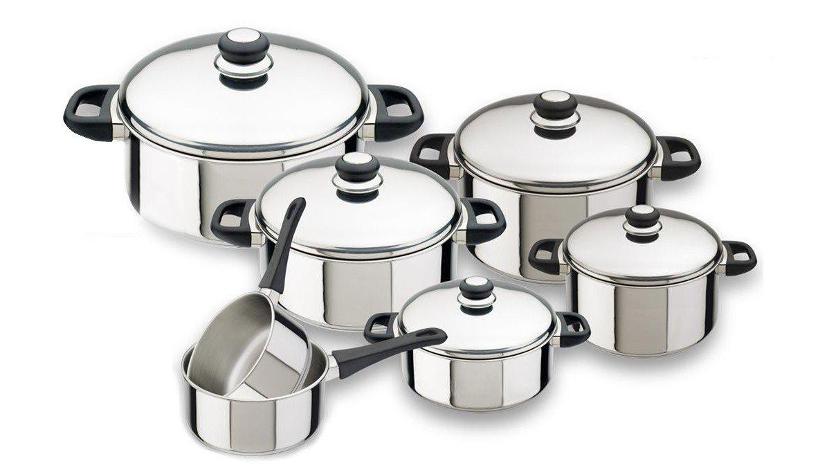 Magefesa - Bateria cocina Magefesa Royal 12 piezas: Amazon ...