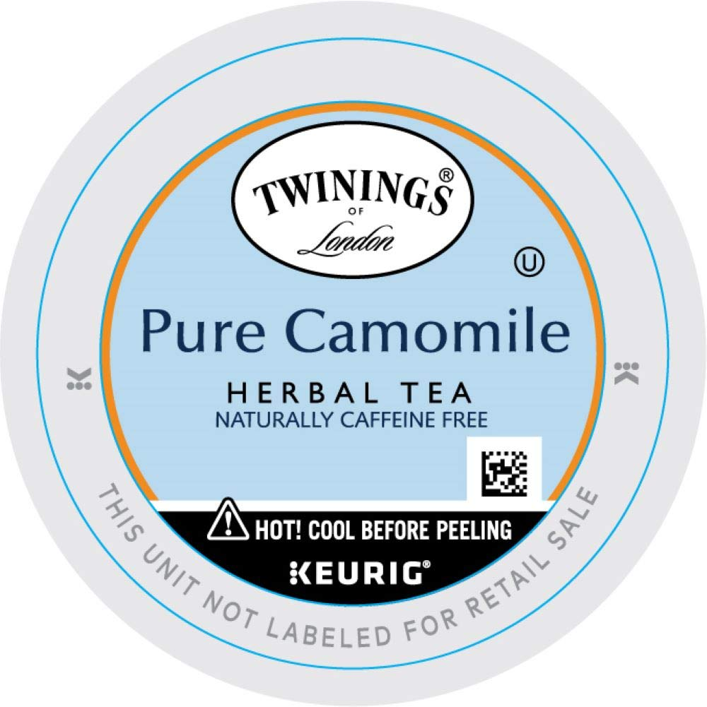 Twinings of London Pure Camomile Tea K-Cups for Keurig, 12 Count
