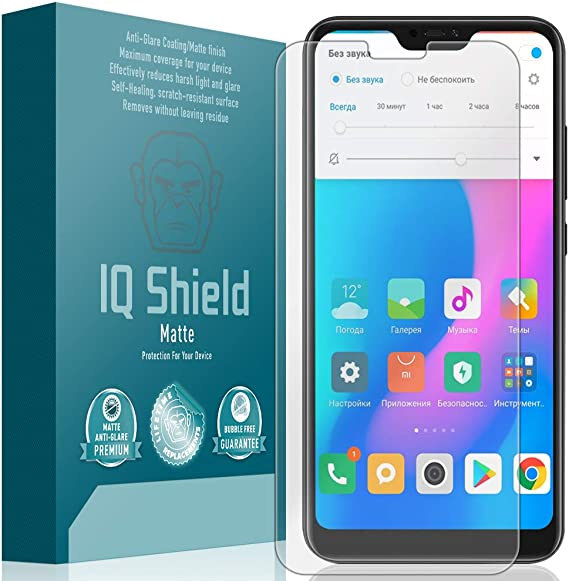 Matte Bedifol 2X BROTECT Matte Screen Protector for Xiaomi Mi A2 Lite Anti-Scratch Anti-Glare
