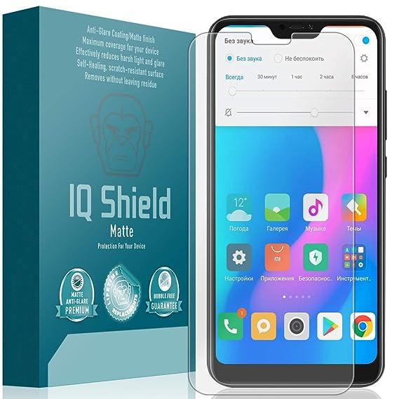 Xiaomi Mi A2 Lite Screen Protector, IQ Shield Matte Full Coverage  Anti-Glare Screen Protector for Xiaomi Mi A2 Lite Bubble-Free Film