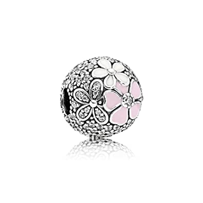 53317aecf Image Unavailable. Image not available for. Color: Pandora Women's Poetic  Blooms Charm ...