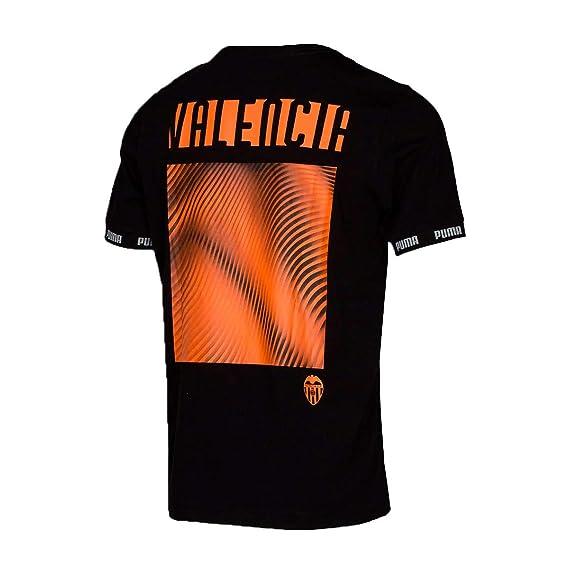 Puma Valencia CF 2019-2020 Niño, Camiseta, Puma Black, Talla ...