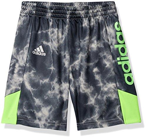 Adidas Boys' Big Athletic Basketball Short, Smoke