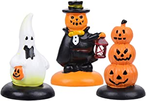 VOSAREA Halloween Mini Pumpkin Doll Decorations Autumn Tabletop Home Desktop Decor for Halloween Party Thanksgiving Autumn