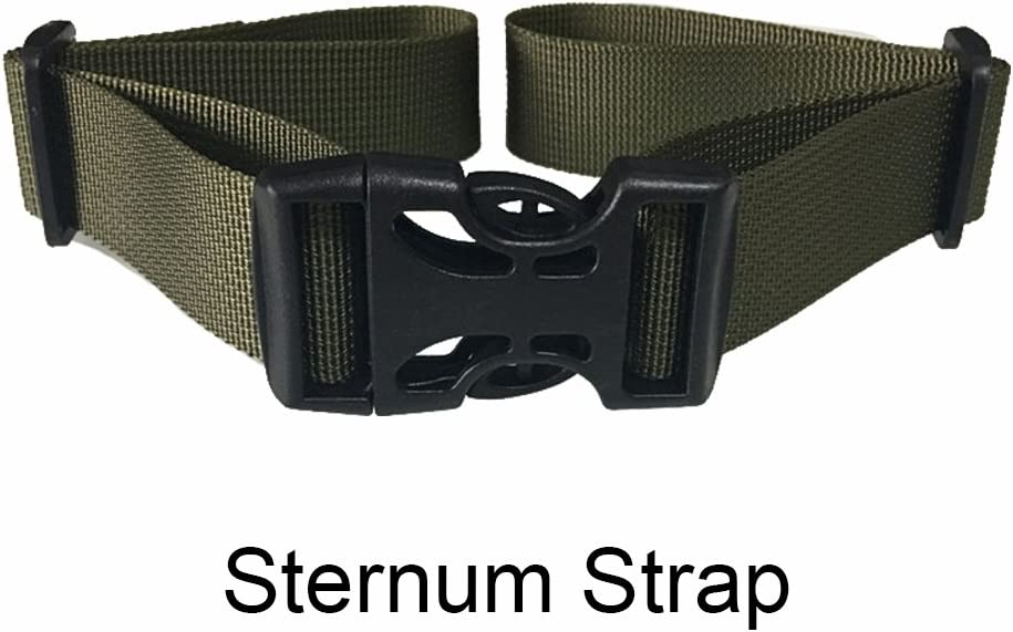 6 Adujustable Universal Sternum Strap Backpack Chest Harness Nylon