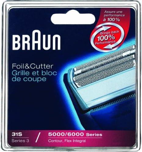 Braun- Juego de láminas de recambio y portacuchillas para ...