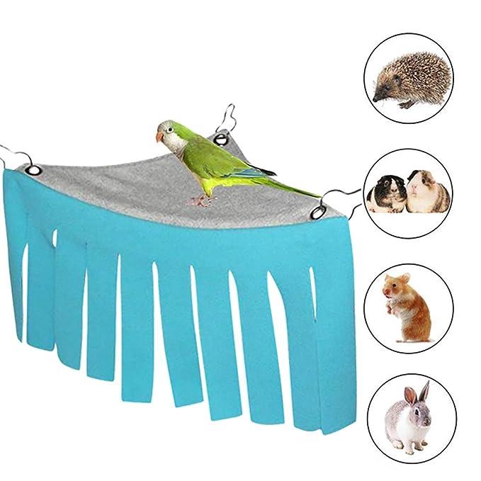DEDC Hamaca de Mascota Escondite Jaula para Pequeño Animal Hamster ...