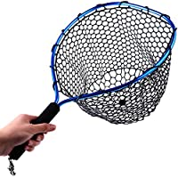 Sougayilang Fly Fishing Net Aluminum Landing Net with...