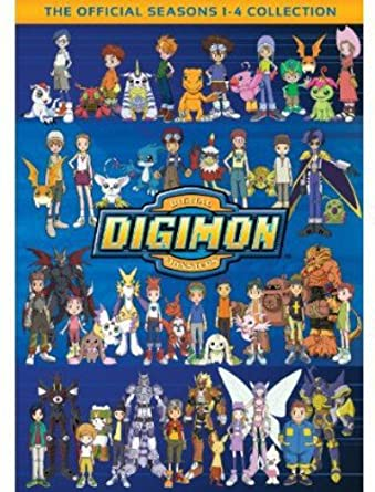 amazon co jp digimon the official seasons 1 4 collection dvd