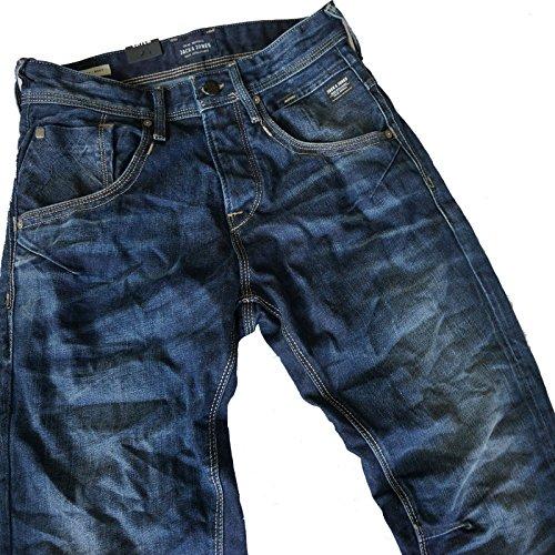 JACK & JONES BOXY POWEL JOS JJ 979 CORE Loose Fit Men Herren Jeans (W36/L36)