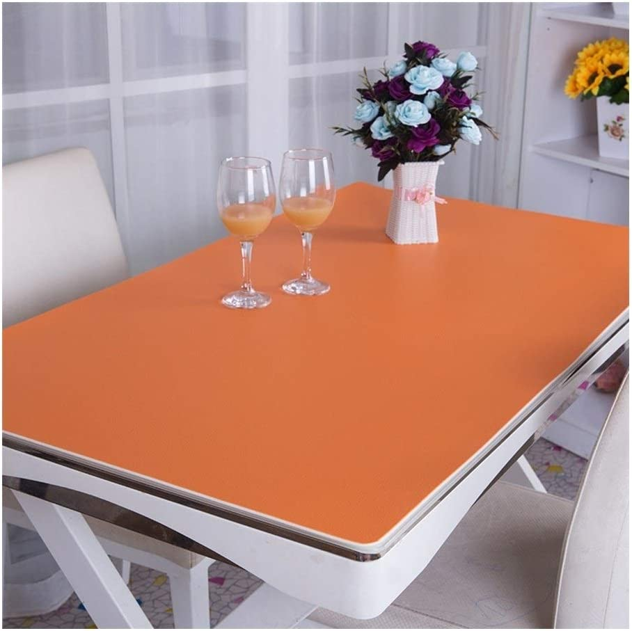 Desk Mat Computer Mouse Pad Thicken Odorless Waterproof Table Pad Color : Yellow, Size : 60x120cm 3 Colors Customizable Size ALGFree