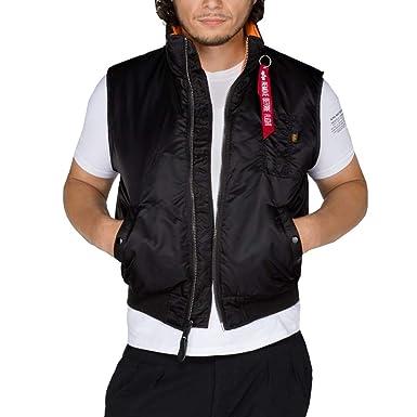the best attitude 96d99 45bd0 Alpha Industries - MA-1 Vest / Weste (L, Schwarz): Amazon.de ...