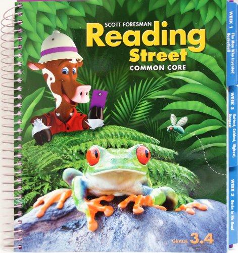 Scott Foresman Reading Street Common Core, Vol. 3.4, Teacher Edition